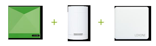 loxone smart home heating equation