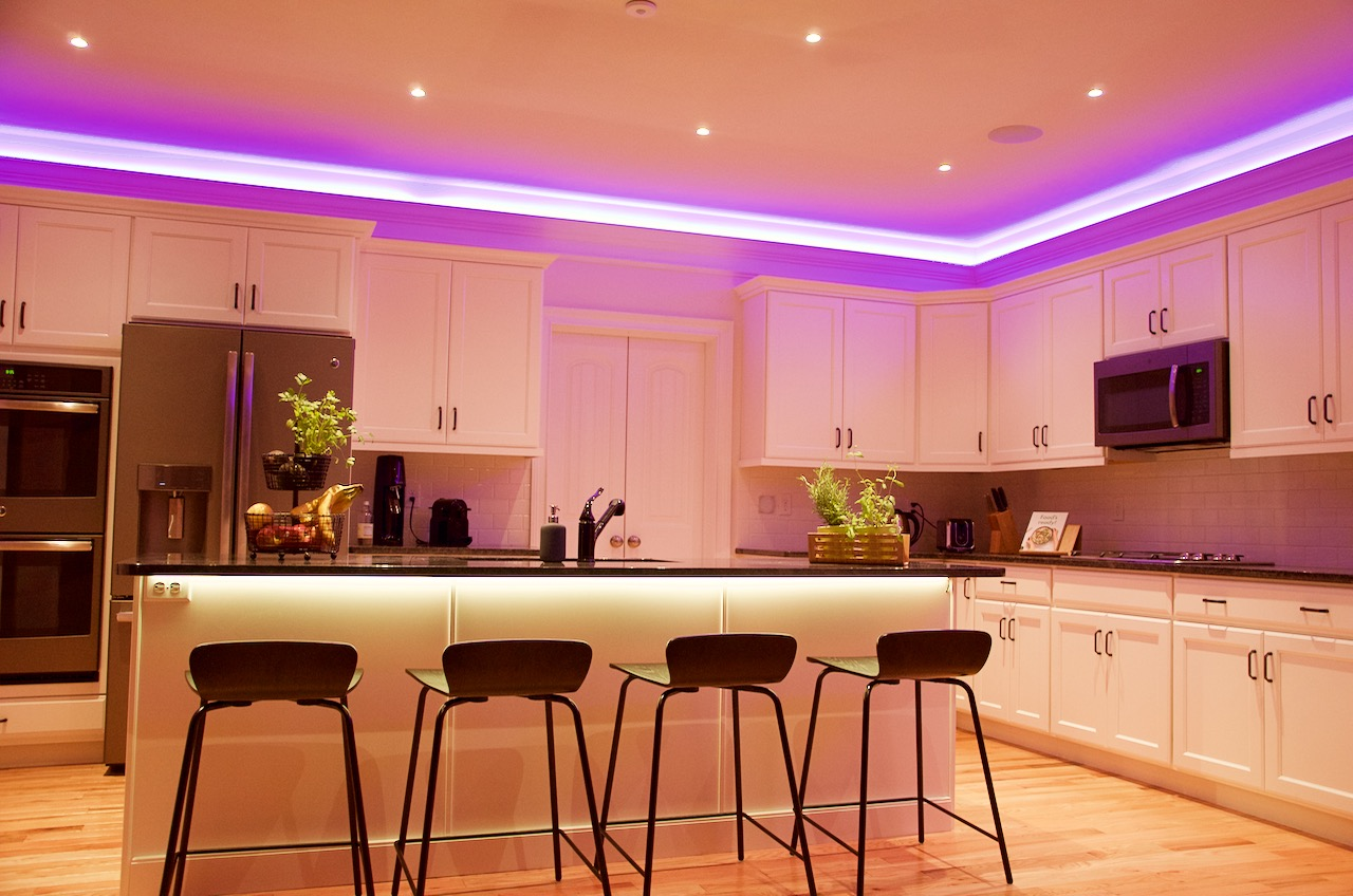 home ambient lighting. Atmospheric Lighting With Loxone Home Ambient 0