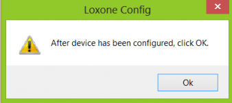 Loxone Config PWM DMX Popup Configuration