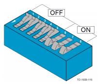 Keba Wallbox Dip Switches On/Off