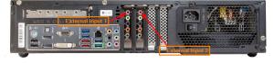 Music Server External Inputs