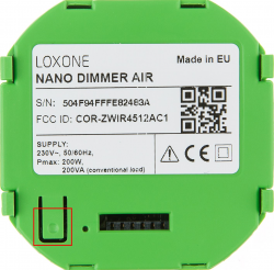 Loxone Wireless Dimmer Nano Dimmer Air