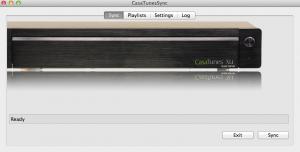 Casatunes Music Server UI Sync