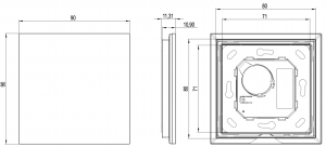 Loxone Touch Pure Air Diagram
