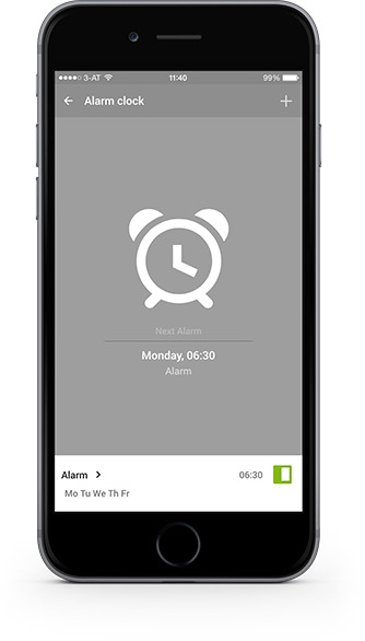 Smart Home App - Alarm Clock