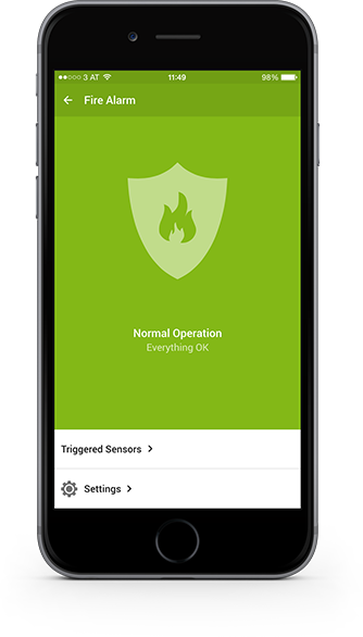 Smart Home App - Fire & Flood Detection