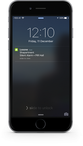 Smart Home App - Push Notifications