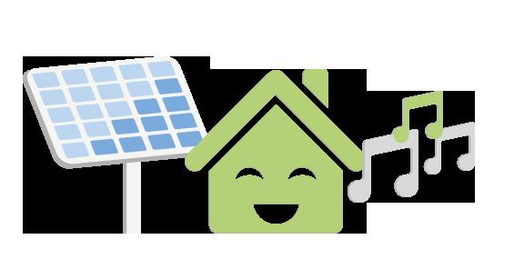 Solar Panel House Music