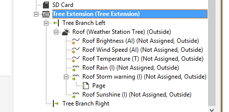 `Weather Station Tree Config