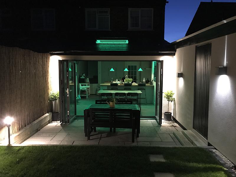 Loxone RGBW LED Kitchen Lighting