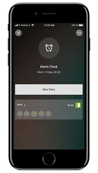 Smart Home App - Wecker