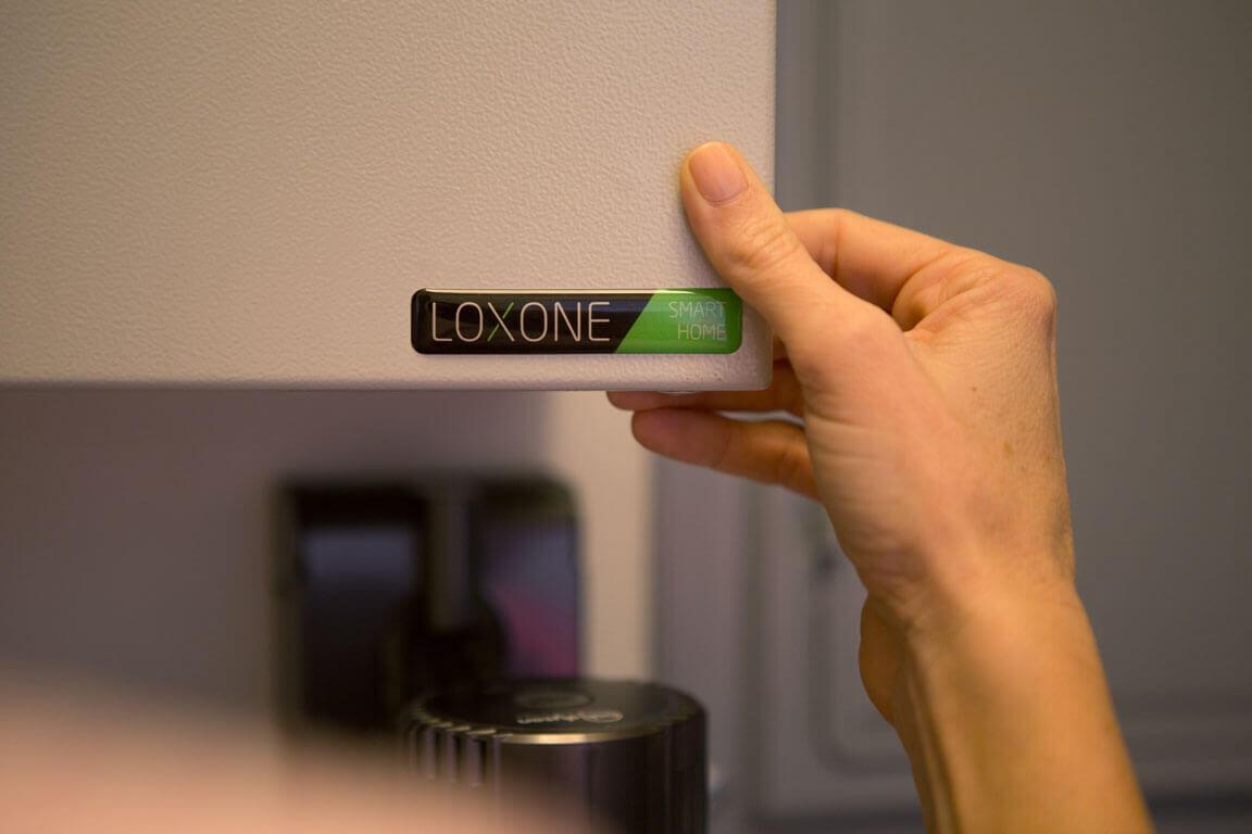 Loxone Smart Home Sticker in Kitchen