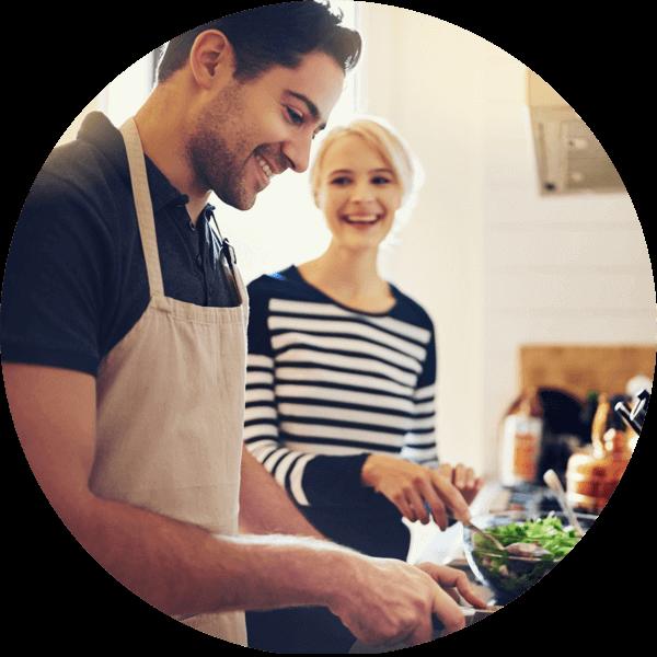 multiroom audio for cooking