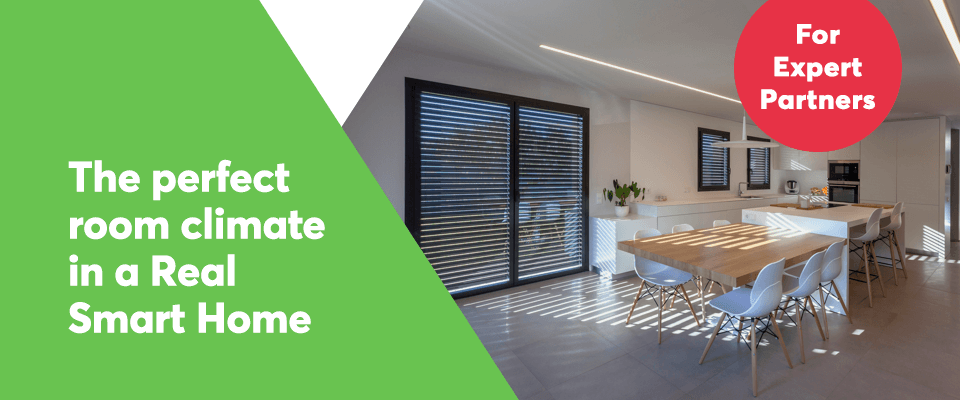 Smart room climate control with Loxone