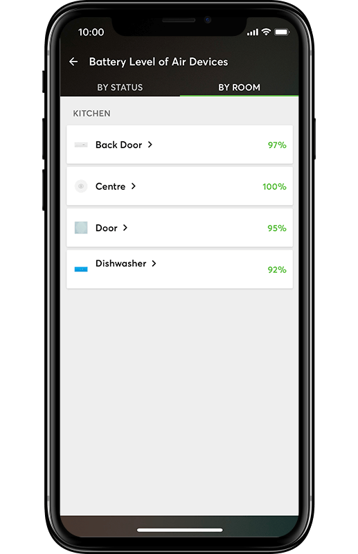 Smart Home App - Batterie Monitor