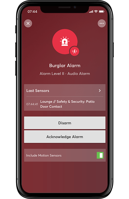 Smart Home App - Sicherheit