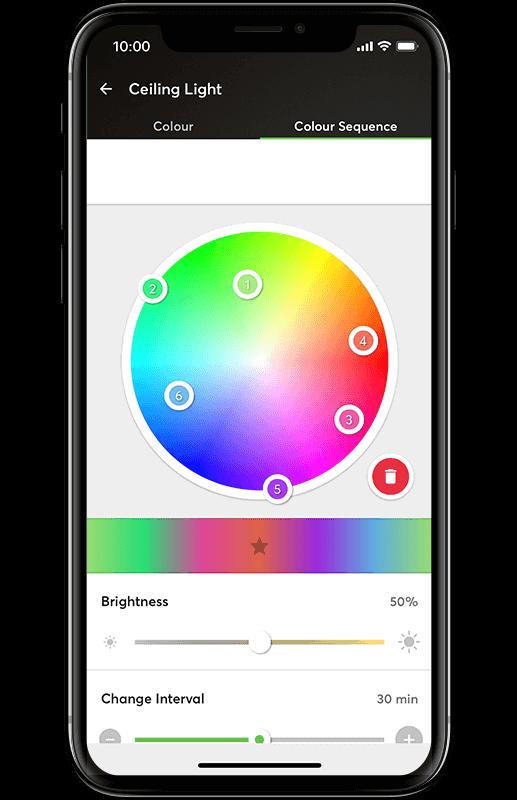 Smart Home App - Farbwechsler