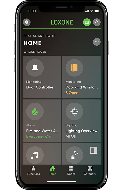 Smart Home App - Personalisierung