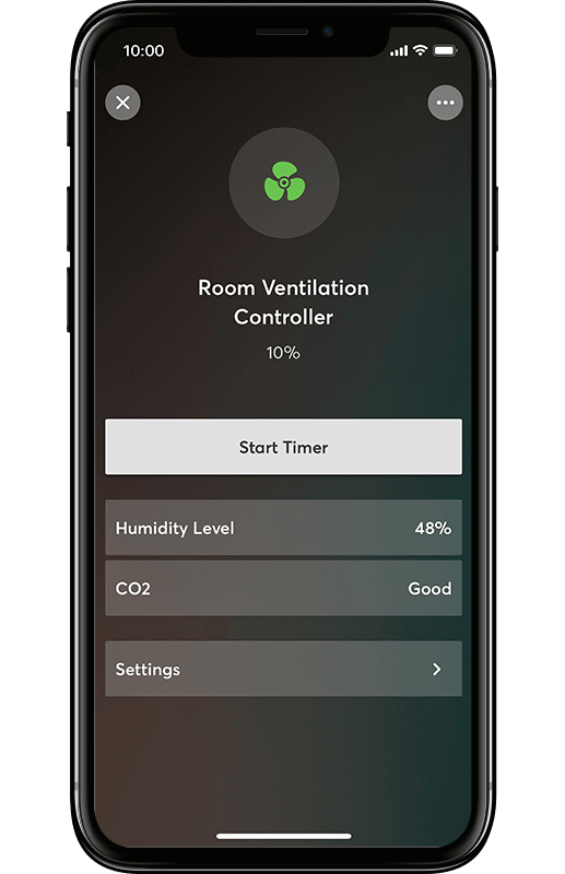 Smart Home App - Lüftungssteuerung