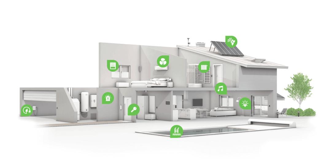 Nicht nur die Heizung im Loxone Smart Home lässt sich intelligent steuern