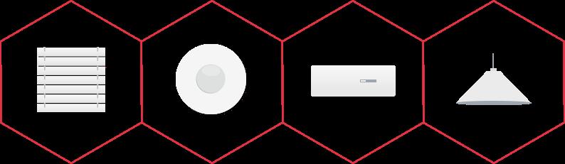 Komponenten Smart Home Alarmanlage