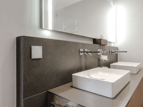 Edle Optik des Touch Pure