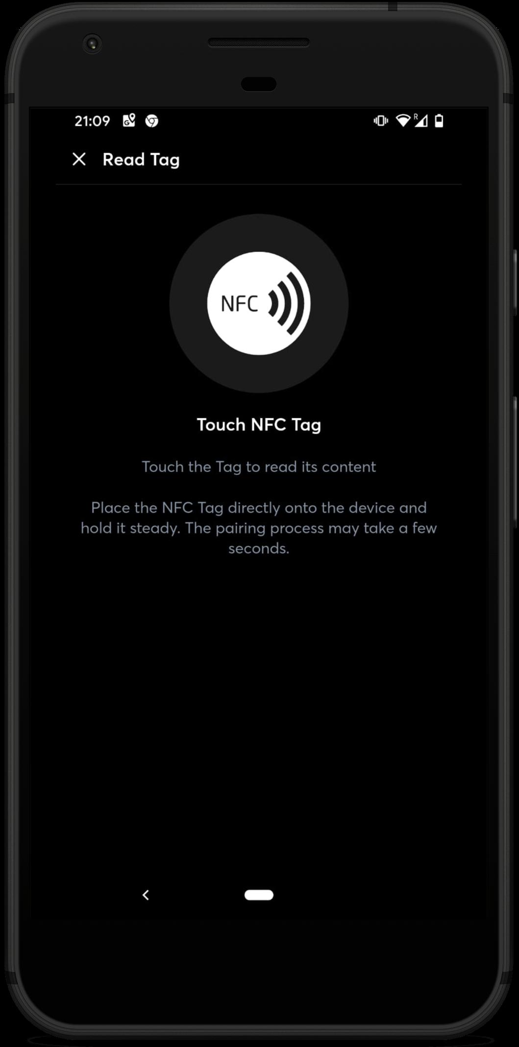 Ansicht NFC