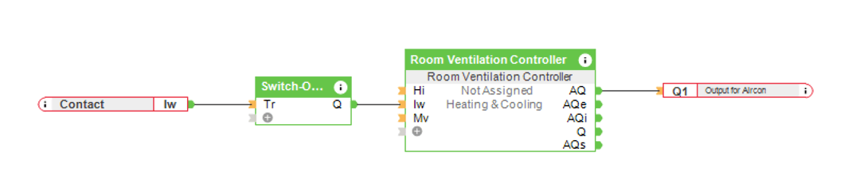 Smart Air Conditioner Control - Loxone Config Screenshot