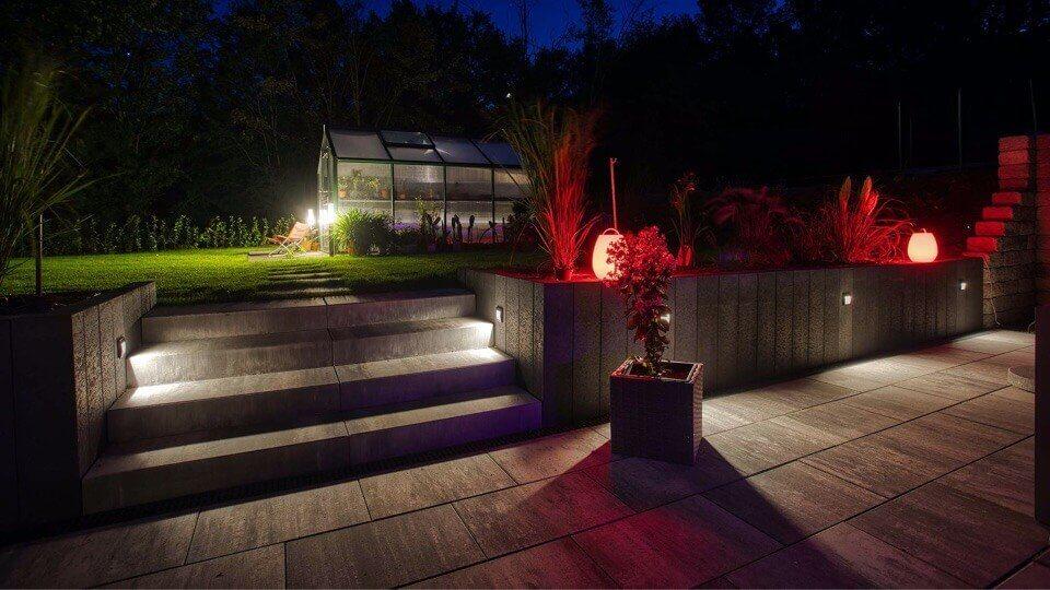 Examples of Smart Garden Lighting