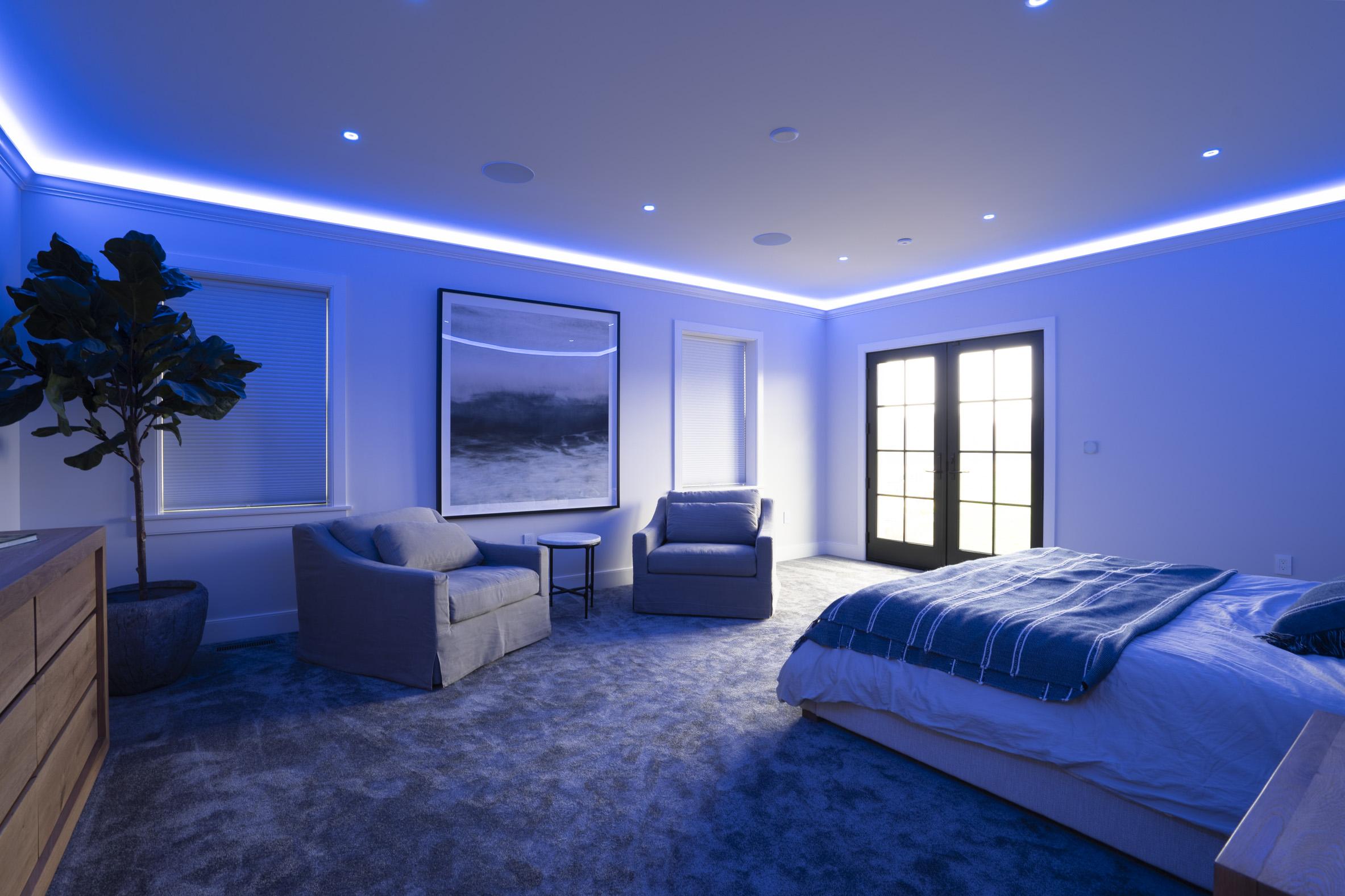 Bedroom in Night Mode