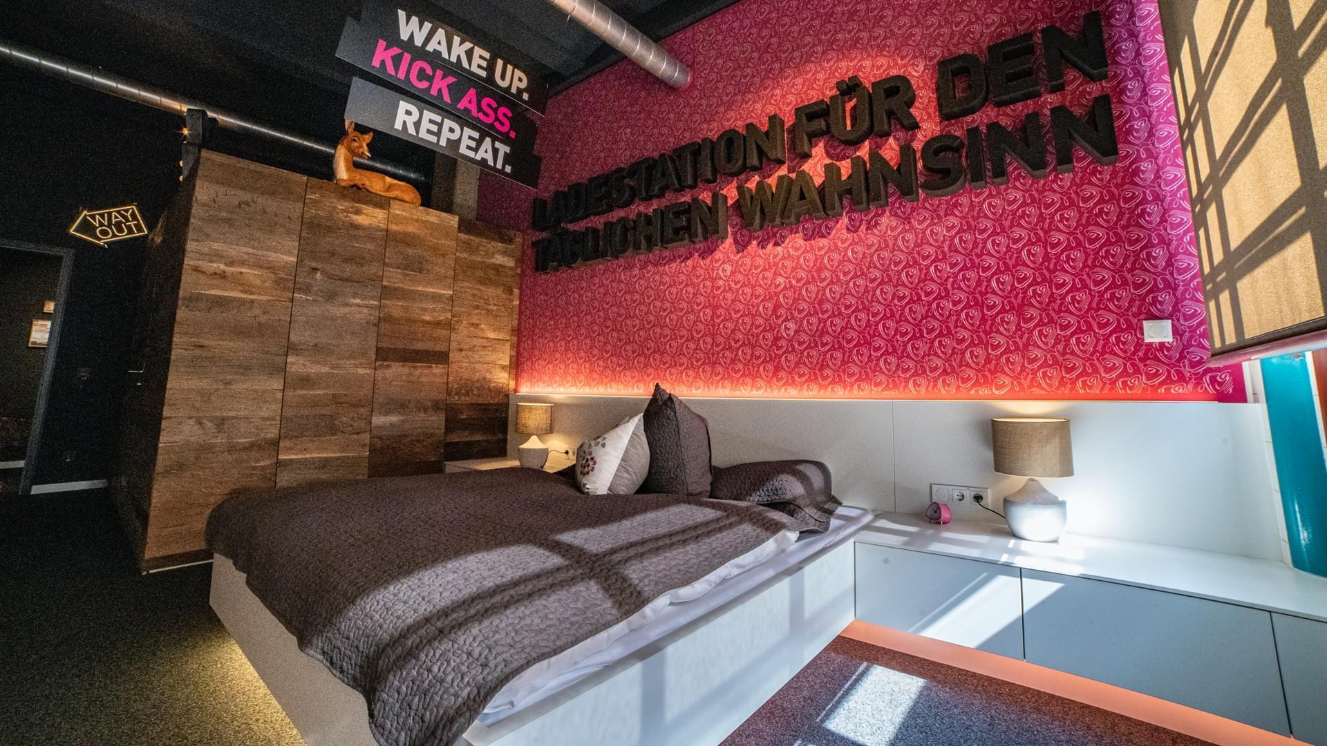 Lunik2 – Schlafzimmer mit Loxone ausgestattet