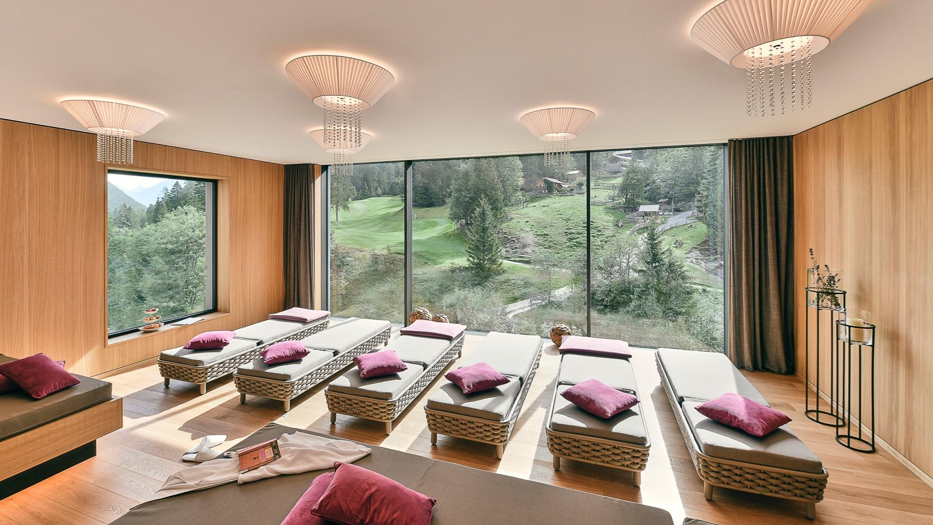 Hotel Sarotla - Wellnessbereich