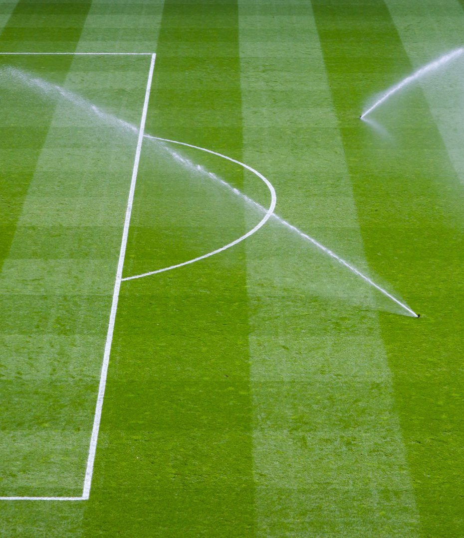 Automatic Football Field Watering