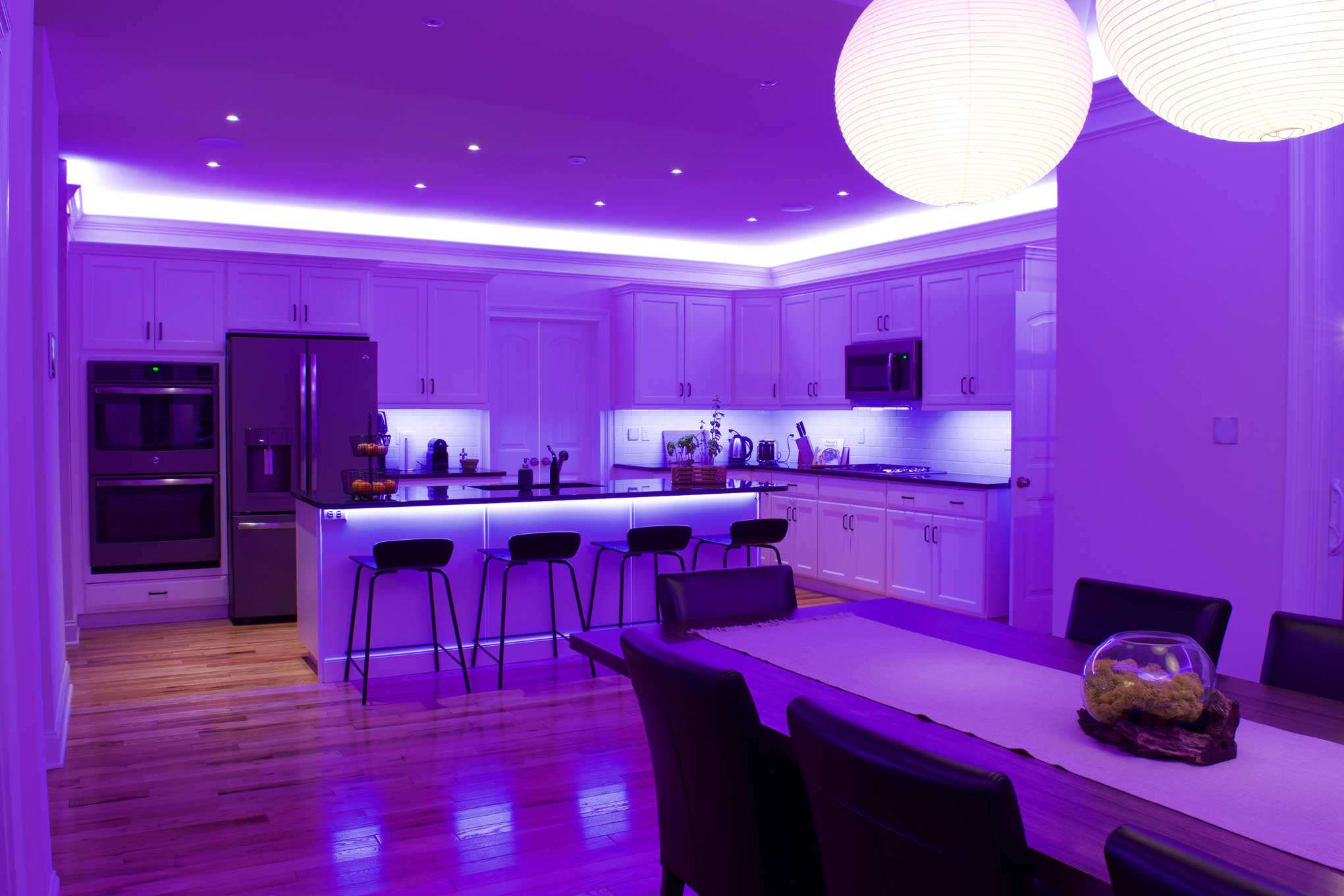 kitchen mood lighting ambient lighting utilize led lights to set the mood of 2320