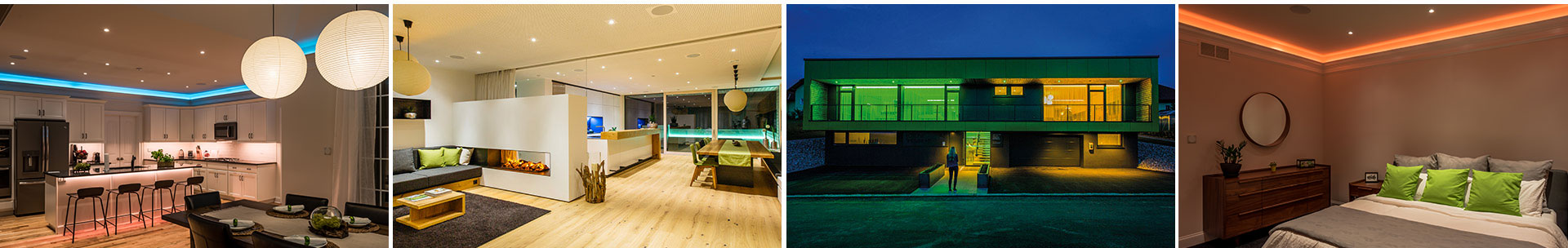 smart lighting breathtaking colorful light moods with loxone