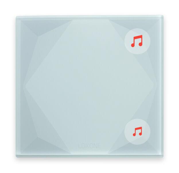 Beispiel: Musiksteuerung per Taster