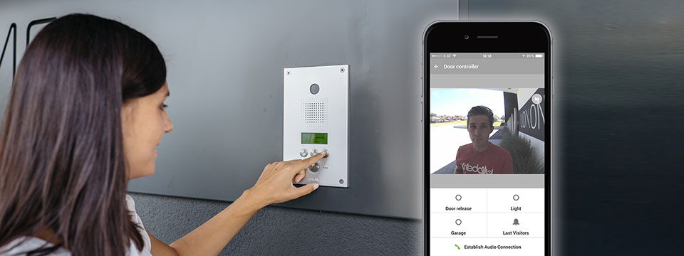 Video Intercom Base Station by Aiphone – Kyosis Parking Technologies