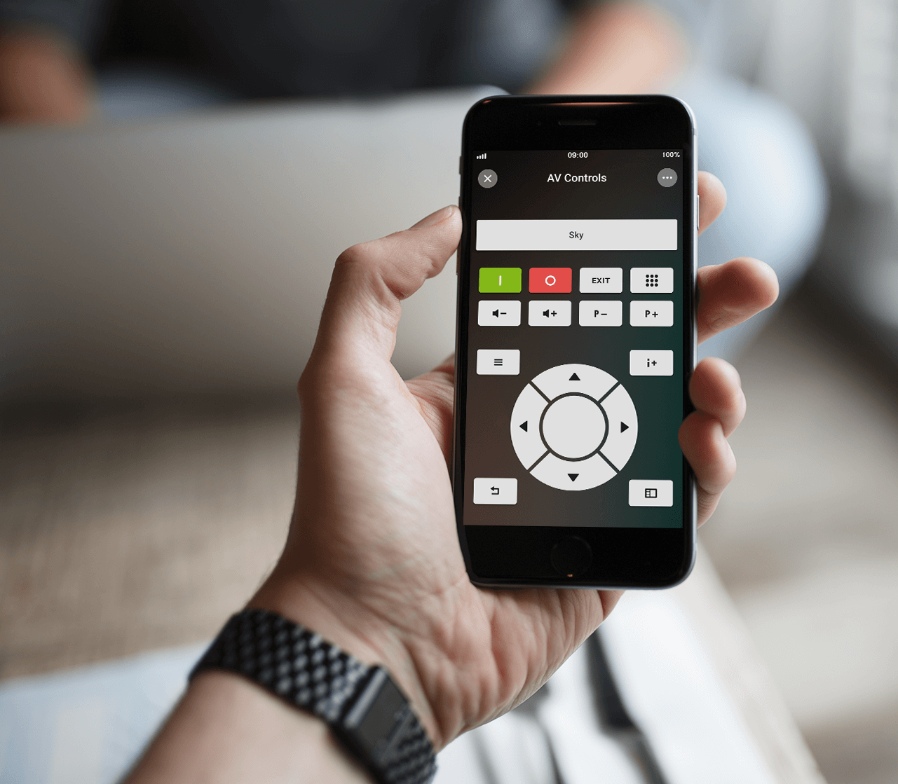 Loxone Press Resources - Loxone Smart Home App