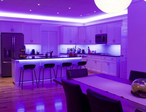 Loxone Under Cabinet Lighting
