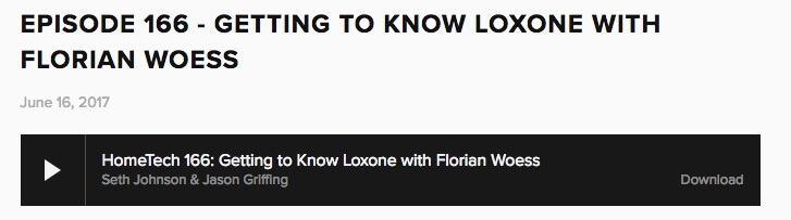 Loxone On Air at HomeTech.fm