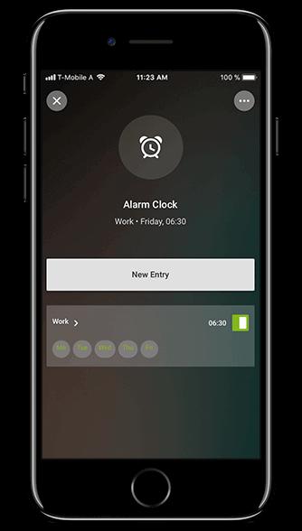 Smart Home App - Wecker