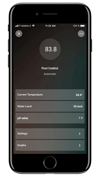 Smart Home App - Pool Control