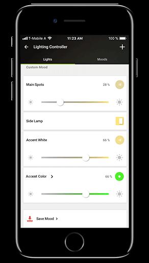 Smart Home App - Light Moods