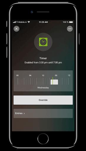 Smart Home App - Timer