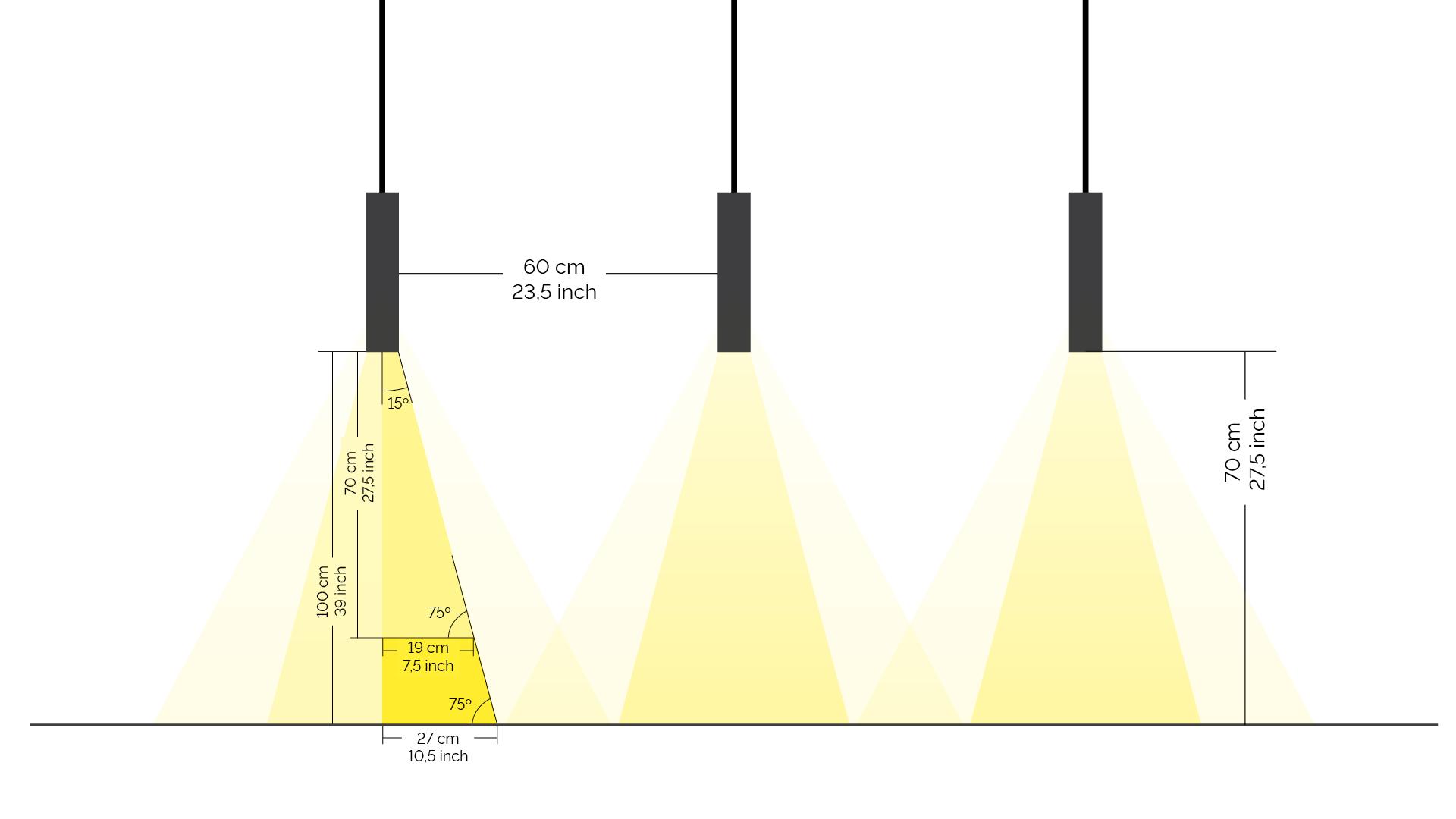 Loxone LED Pendulum