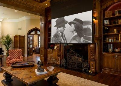 Living Room - Coats Residence