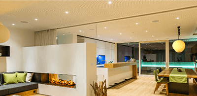 Beleuchtung   Loxone Showhome