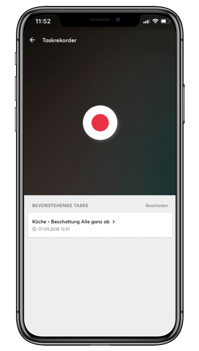 Smart Home App - Task Recorder
