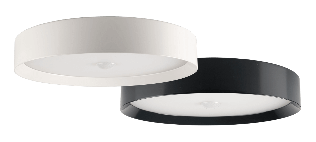 Loxone Ceiling light in white and anthracite
