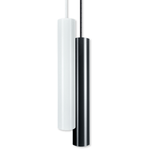 Pendulum Slim in white and anthracite